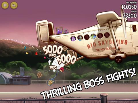 Angry Birds Rio krijgt 12 extra levels