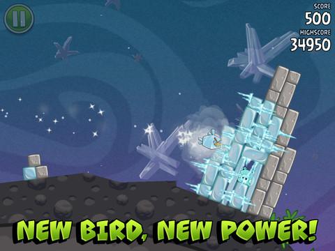 Angry Birds Space HD nu beschikbaar in App Store