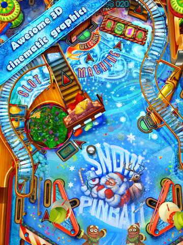 Pinball HD krijgt nieuwe kast: Snow Pinball