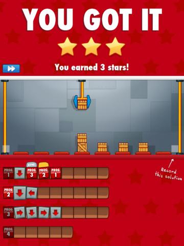 Cargo-Bot: eerste game die volledig is ontwikkeld op de iPad
