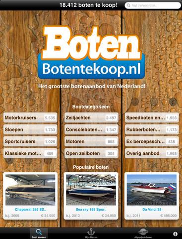 Boot(je) kopen? Kijk op de app Botentekoop.nl voor iPad! [REVIEW]