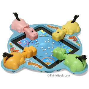 Binnenkort: Hungry Hungry Hippos for iPad