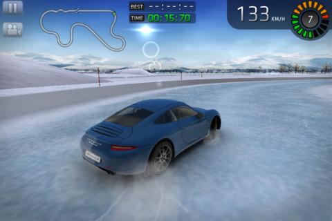 Nieuwe Porsche 911 in Sports Car Challenge voor iPad