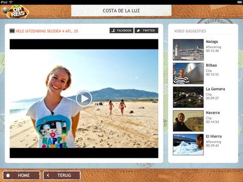 3 Op Reis van BNN voor iPad: een bron van reisinspiratie