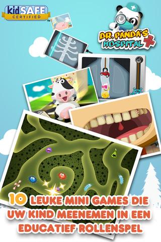 Dr. Panda's Dierenziekenhuis voor iPad: leerzame app voor kinderen