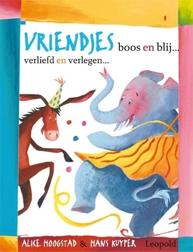 'Vriendjes boos en blij' nieuw in Kinderboeken app voor iPad