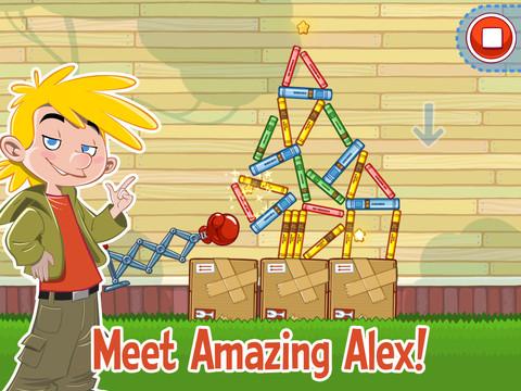 Amazing Alex voor iPad nu beschikbaar in App Store