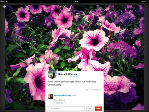 Google+ app nu ook voor iPad geschikt