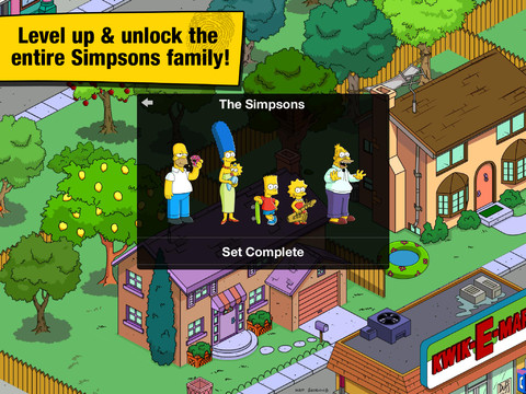 The Simpsons: Tapped Out voor iPad terug in App Store