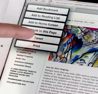 Nieuwe iPad commercial