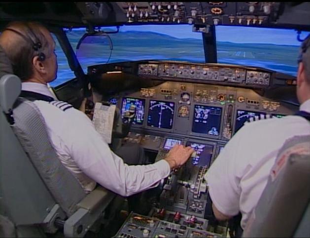 Piloten American Airlines gebruiken iPad tijdens vlucht