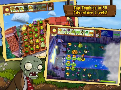 Nu of nooit: Plants vs Zombies maar 89 cent