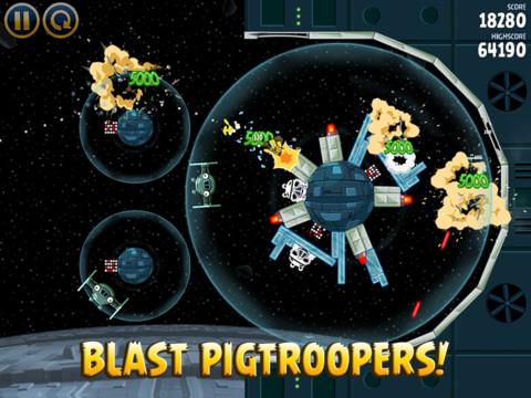 Angry Birds Star Wars nu beschikbaar voor iPad