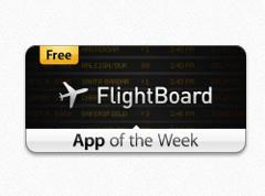Apple's App van de Week: FlightBoard