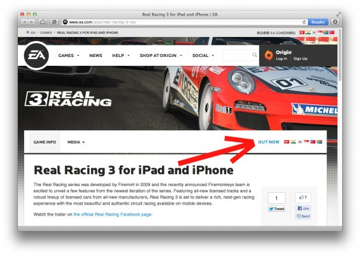 Real Racing 3 verschenen? [UPDATE: Nee]