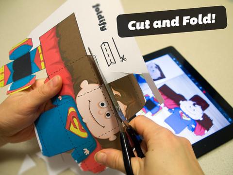 Vouw papier met Foldify voor iPad