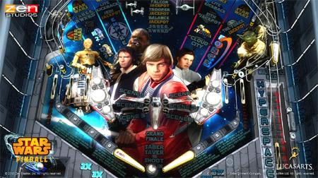 Binnenkort: Star Wars Pinball voor iPad