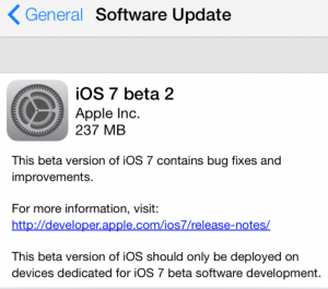 iOS7beta2